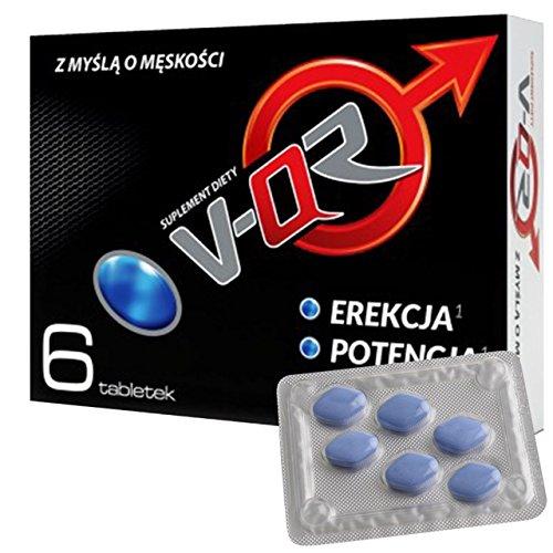 VQR - für aktive Männer - Alternative zu Potenzmittel - 6 Tabletten > Jetzt neu der Klassiker aus Polen <