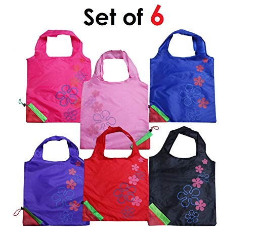 Oytra Set of 6 Nylon Reusable Strawberry Bags - Eco Friendly - Colors as per Availability