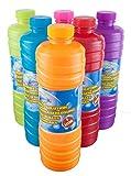 A. I. & E. Seifenblasen 1 Liter Seifenblasenflüssigkeit Nachfüller Ideal Für Seifenblasenlösung Pistolen Stäbe Seifen Blasen Lauge