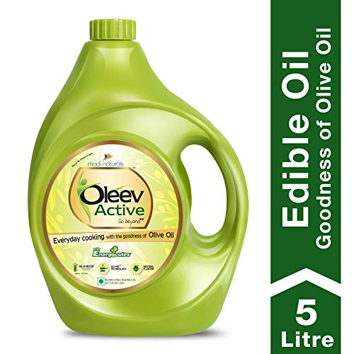Oleev Active, with Goodness of Olive Oil Jar, 5000 ml