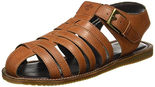 Bond Street by (Red Tape) Men's Tan Sandals - 9 UK/India (43 EU)(RSP0483-9)