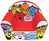 Fun House 712571Monsieur Madame silla Club para niños espuma/funda poliéster rojo 52x 33x 42cm
