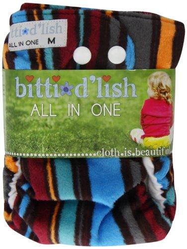 Itti Bitti-Copri pannolino D'Lish All In One, misura M, Eton)