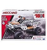 Meccano 10 in 1 Race Truck Construction Set 17203 - 6036038