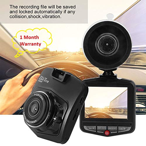 Manya Impex LCD HD 1080P Vehicle Blackbox DVR Car Dashboard Recorder with Motion Sensing (Assorted Colour)