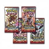Pokemon XY8 'Break Through' 4x Booster Paquetes=40 Tarjetas Adicionales para Pokemon TCG (Inglés)