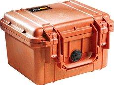 Peli 1300 - Maleta Protectora sin Espuma, Color Naranja
