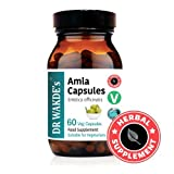 DR WAKDE'S® Amla capsules (Amalaki/Indian gooseberry/Emblica officinalis) I 100% Herbal Supplement I 60 Veggie Capsules I Ayurvedic Supplement I Quantity Discounts I Same Day Dispatch