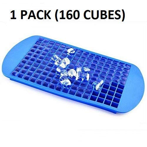WHOLE MART® 160 Small Ice Maker Ice Cube Trays Chocolate Mold Mould Maker for Kitchen Bar Party Drinks - Random Color-1 Pcs