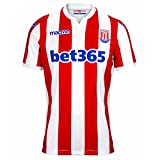 Macron 2018-2019 Stoke City Home Football Soccer T-Shirt Maillot