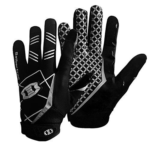 Seibertron PRO 3.0 Elite Ultra-Stick Sports Receiver Gloves/Guanti da Football Americano PRO...