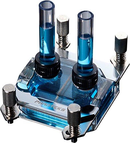 Phanteks Waterblock CPU pour LED RVB Base en cuivre nickelé Acrylique Coque Chrome-Ph-c350a Cr01 25