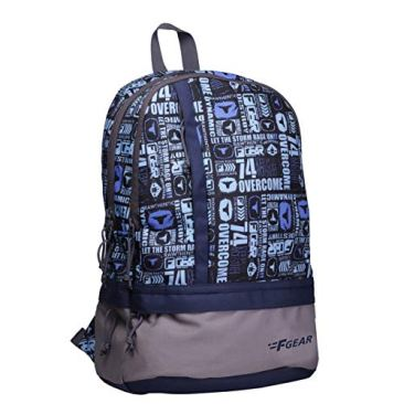 F Gear Burner 26 Liters P11 Sky Blue Casual Backpack 3