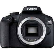 Canon EOS 2000D BK Body EU26 Cuerpo de la Cámara SLR 24.1MP CMOS 6000 x 4000Pixeles Negro - Cámara Digital (24,1 MP, 6000 x 4000 Pixeles, CMOS, Full HD, Negro)