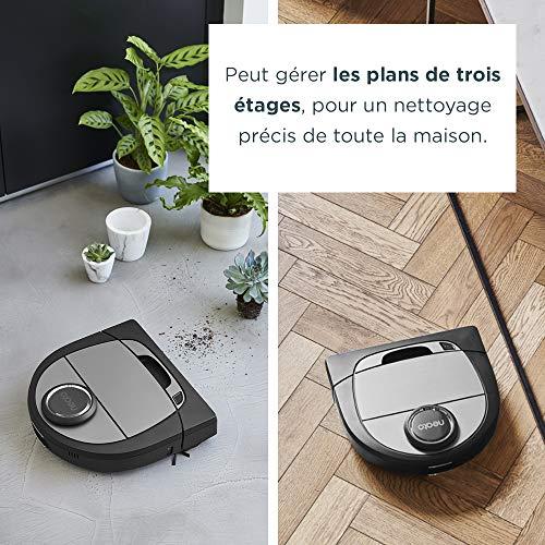 51iRKtPl2YL [Bon Plan Neato] Neato Robotics D701 Connected - Compatible avec Alexa - Robot aspirateur avec station de charge, Wi-Fi & App