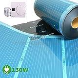elektrische Fußbodenheizung for Wohnmobil 0,5x1m + Thermostatregler SAS816