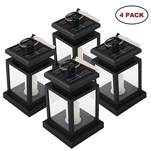 Mabor Lampe Solaire Eclairage LED de Jardin, Chandelle Lanterne ...