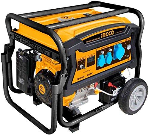 Ingco - Generador Gasolina Ge65006 5000W