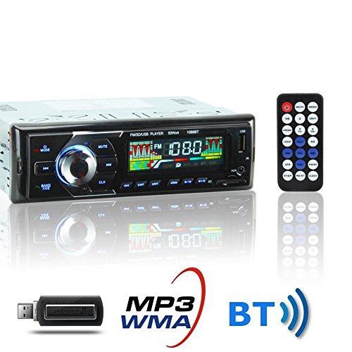 kyg poste radio voiture auto radio st r o bluetooth de voiture poste radio usb voiture am fm wma. Black Bedroom Furniture Sets. Home Design Ideas