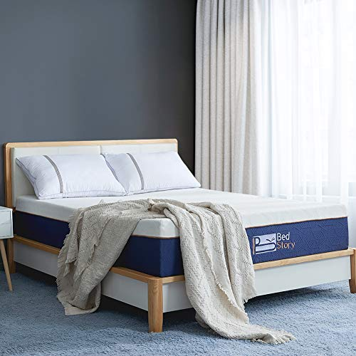BedStory Memory Foam Mattress 90 x 190 cm, Memory Foam Mattress, with Lavender Essence | Extremely Durable |  CertiPUR-US Certificate |  ISO 9001 certification