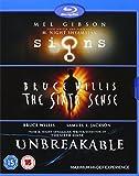 M Night Shyamalan: Signs / Sixth Sense / Unbreakable [Reino Unido] [Blu-ray]