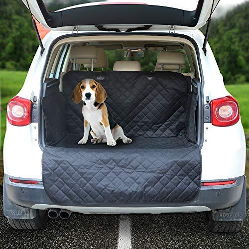 Arkmiido Kofferraumschutz Hunde mit Seitenschutz,Universal Auto Kofferraumdecke,Auto Kofferraum Hundedecke Wasserdicht Kofferraumschutzmatte,187 * 171cm