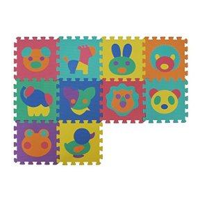 VeloVendo® Alfombra Puzzle Infantiles con Certificado CE & TÜV | Suelo de espuma EVA | Tapete de Juego | Alfombra suave…