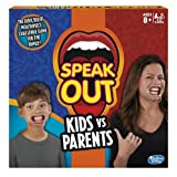 Hasbro Gaming C31451020 Speak Out Kids vs Parents Game, Multi-Colour