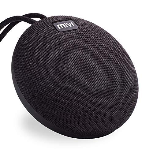 Mivi Roam 5 Watts Ultra-Portable Wireless Bluetooth Water Proof Speaker BS5RM (Black)