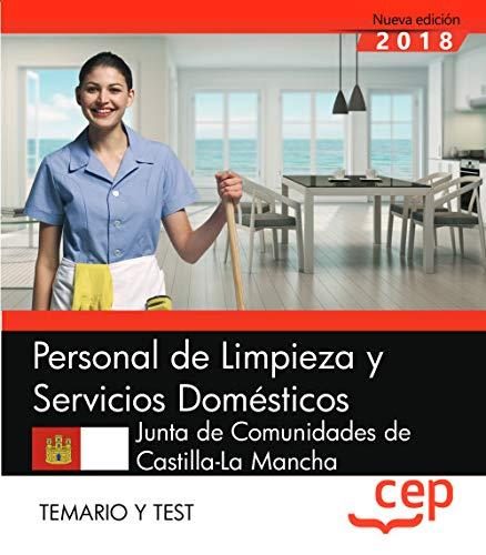 Personal de Limpieza y Servicios Domésticos. Junta de Comunidades de Castilla-La Mancha. Temario y