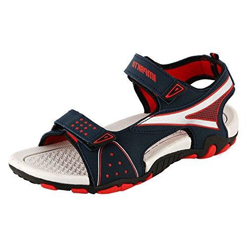 Maddy Men Red Designer Casual Sandal Size:- 9