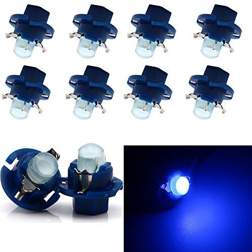 Grandview auto b8.4d COB 1SMD LED Blu lampade cruscotto indicatore laterale luci strumento pannello...