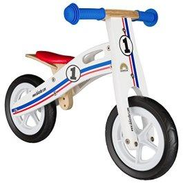 BIKESTAR Bicicletta Senza Pedali in Legno 2-3 Anni per Bambino et Bambina ★ Bici Senza Pedali Bamb
