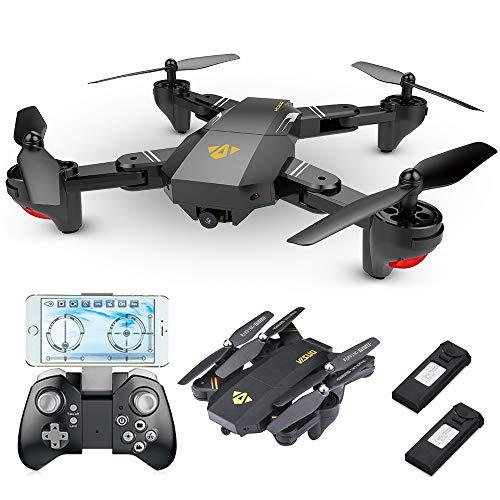 Goolsky VISUO XS809HW WiFi FPV 2.0MP 120 ° FOV Grandangolo Pieghevole Selfie Drone Altezza Presa RC...
