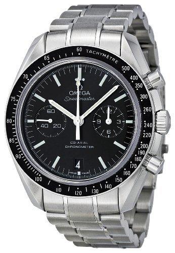 Omega Herren 311.30.44.51.01.002Speedmaster Mond Schwarz Zifferblatt Armbanduhr by Omega