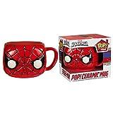 Marvel POP Home Spider-Man Mug, Ceramic, Red, 10 x 11 x 10 cm