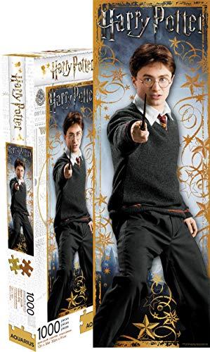 Aquarius Puzzle di Harry Potter Harry Slim 1000 pezzi 900mm x 300mm (nm)