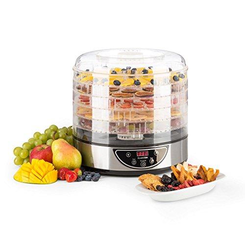 Klarstein Fruitower D • Essiccatore • 5 Ripiani • timer • dai 35 ai 70 °C • 200 - 240...