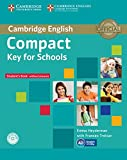 Compact key for schools. Student's book without answers. With CD-ROM. Workbook without answers with Audio CD [Lingua inglese]