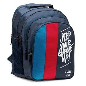 Chris & Kate Big 42 litres Comfortable Blue-Red Casual Laptop Bag || College Bag || Backpack ||School Bag(CKB_181SE) 3