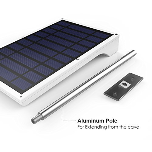 InnoGear Waterproof Solar Gutter Lights 36 LED Motion