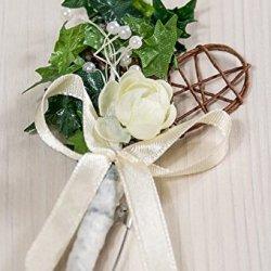 floristikvergleich.de 10 x Hochzeitsanstecker Gästeanstecker Anstecker Hochzeit AS0063