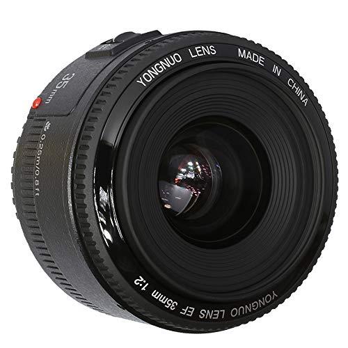 YONGNUO 35mm F2.0 Prime lente YN35MM AF MF Large Aperture Auto Focus Lens per Canon Eos fotocamera