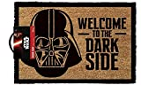 Lasgo Star Wars Zerbino Welcome To The Darkside, Legno, Multicolore, 40 x 70 cm