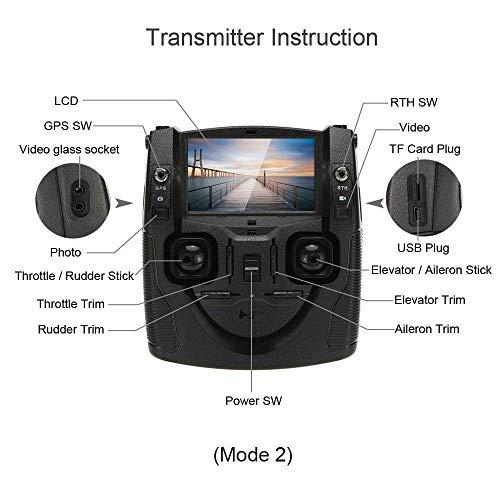 Hubsan H501S X4 Brushless 5.8G FPV Drone avec 1080 HD Caméra GPS RC Quadcopter RTF avec Mode sans Tête Une-clé Retour Maintien d'Altitude Fo... 28
