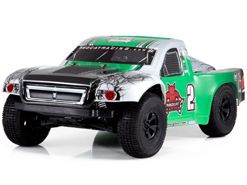 Redcat Racing Caldera SC 10E Brushless Electric Short Course Truck, Green, 1/10 Scale