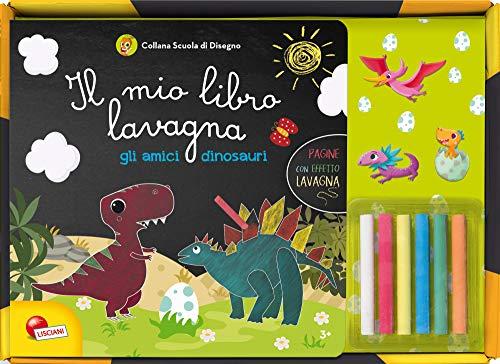 Gli amici dinosauri. Il mio libro lavagna. Con gadget