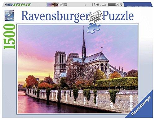 Ravensburger Italy Puzzle Notre Dame al Tramonto, 1500 Pezzi 16345 8