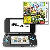 New Nintendo 2DS XL (Schwarz & Türkis) + Hey! Pikmin