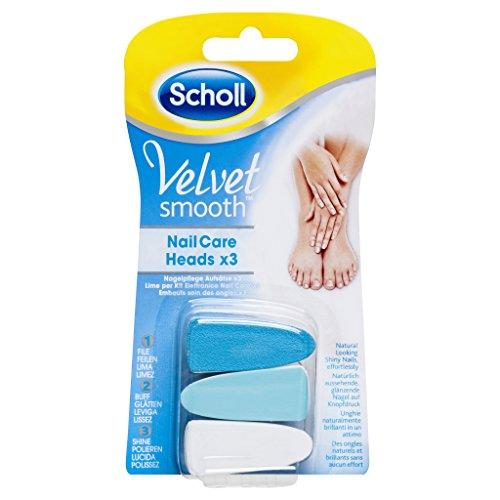 Scholl Velvet Smooth Lime per Kit Elettronico Nail Care